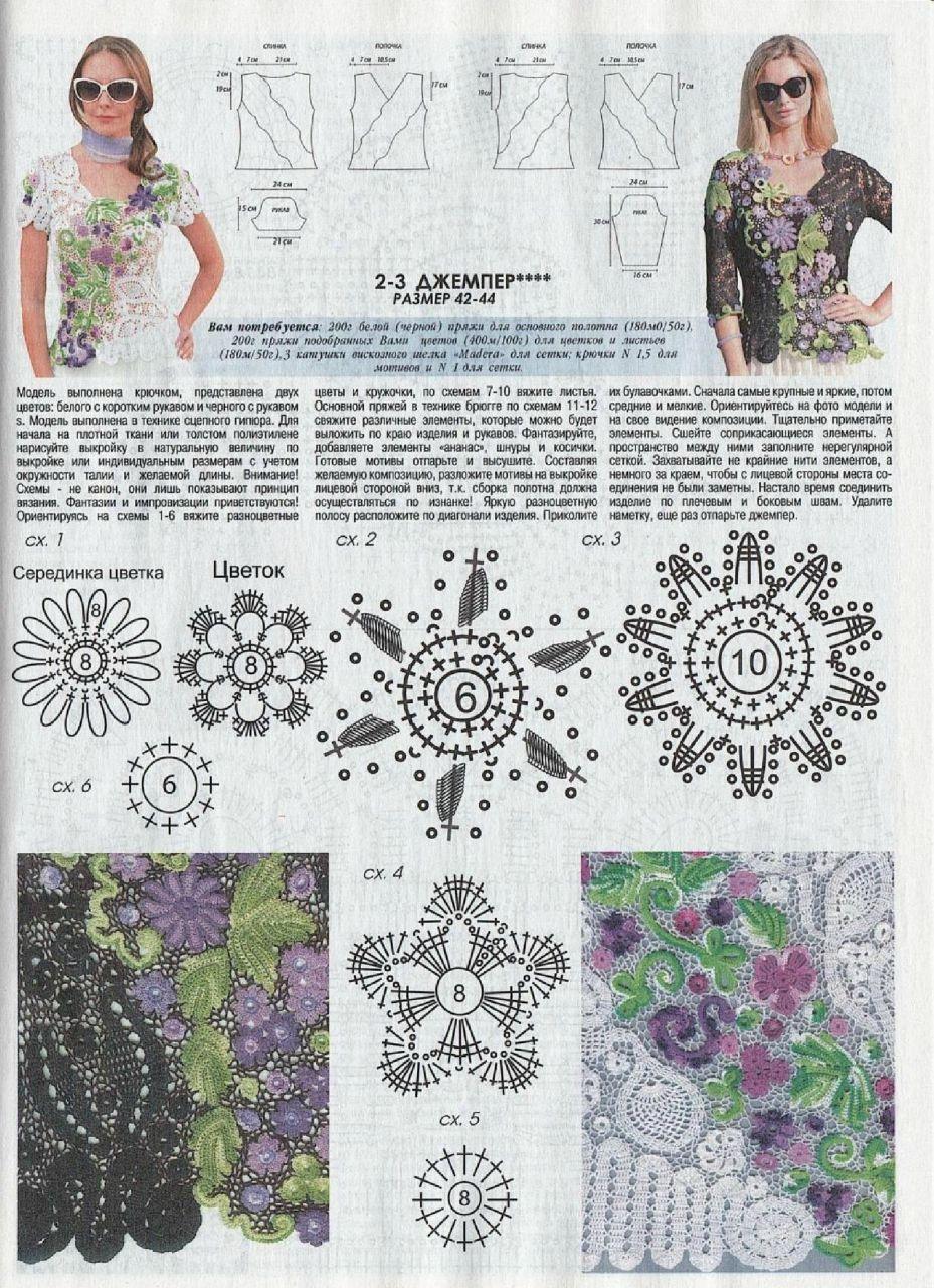 журнал мод вязание картинки со схемами вне возраста