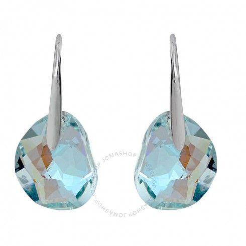 Swarovski Galet Light Azore Blue Crystal Earrings 949740 Blue Crystal Earrings Swarovski Jewelry Earrings Blue Earrings