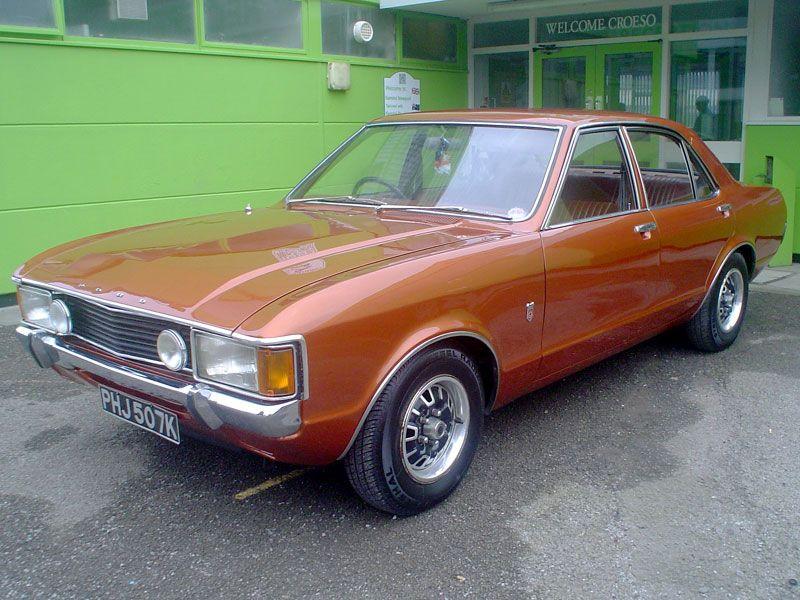 1972 Ford Consul 3 0 Gt Ford Granada Classic Cars British Cars