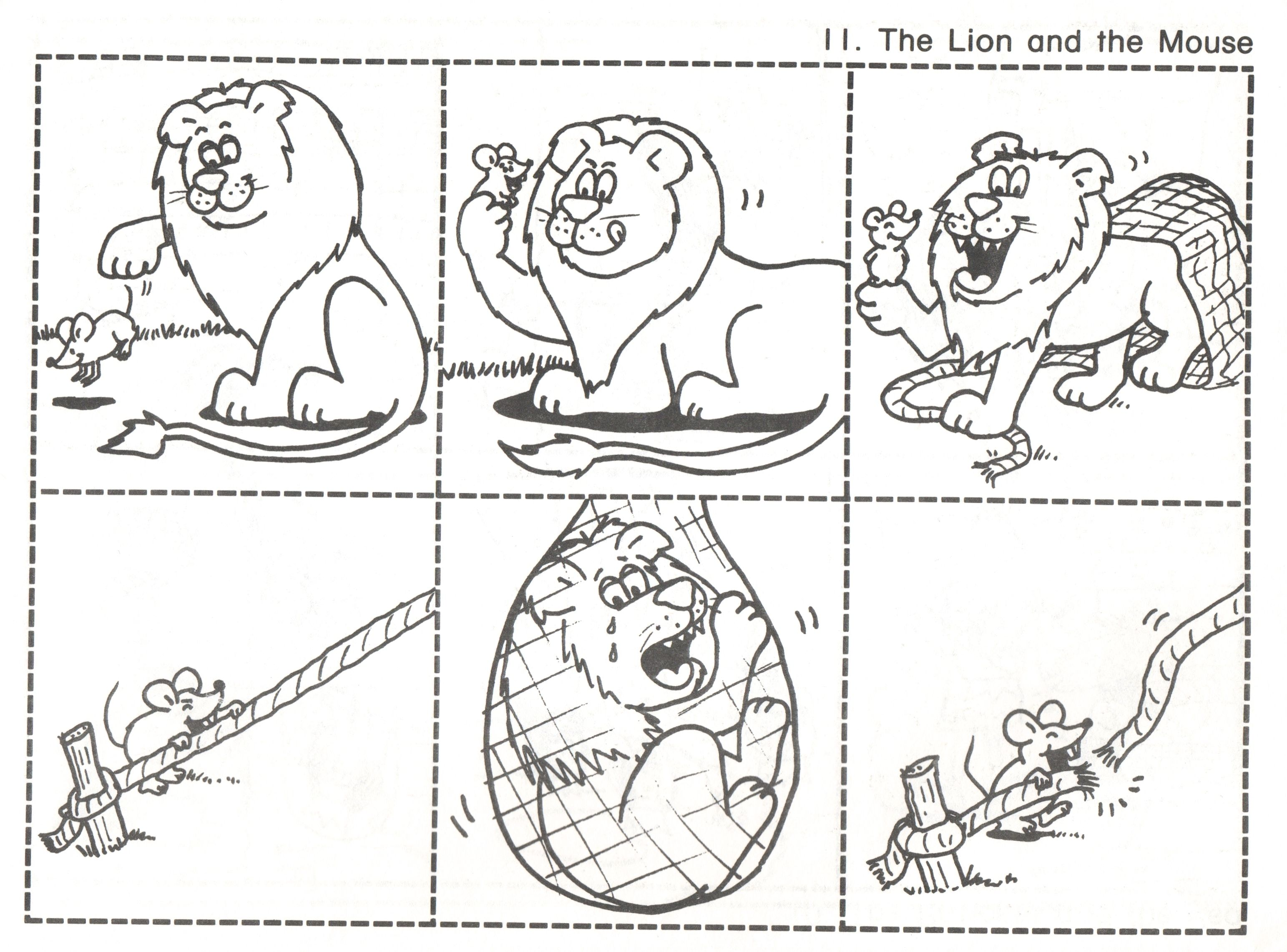 11 Lion And Mouse