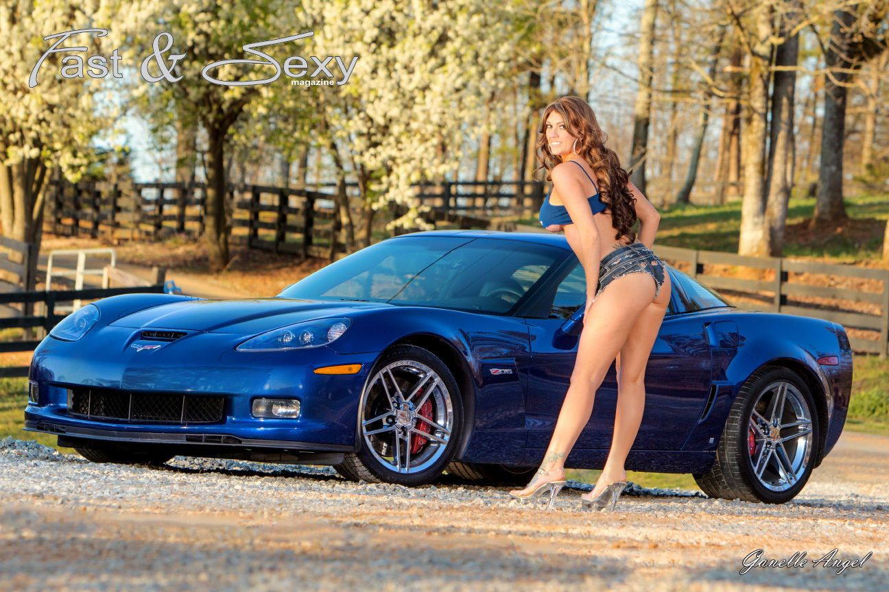 from Crosby sexy babes and corvette