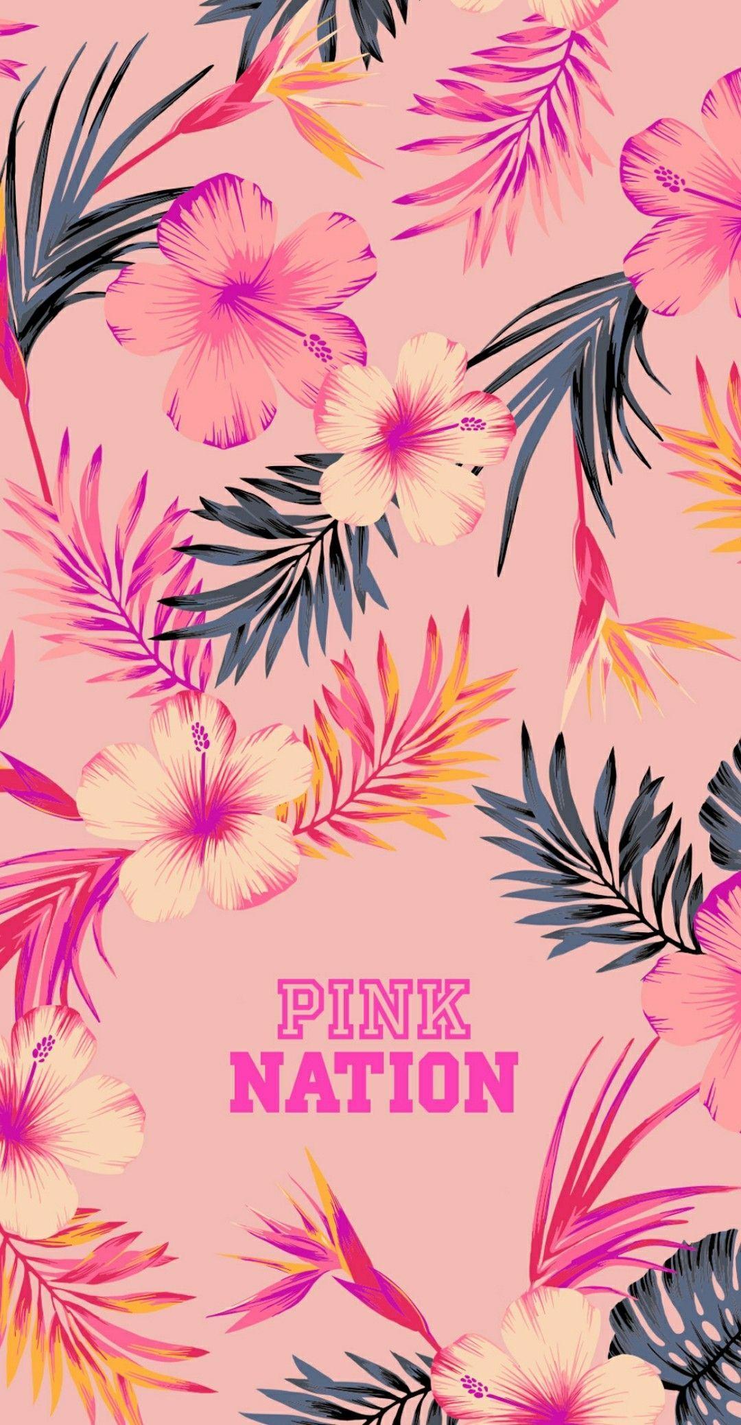 Pink Nation Pink Brand Logo Wallpaper Pink Wallpaper Iphone Pink Nation Wallpaper Victoria Secret Pink Wallpaper