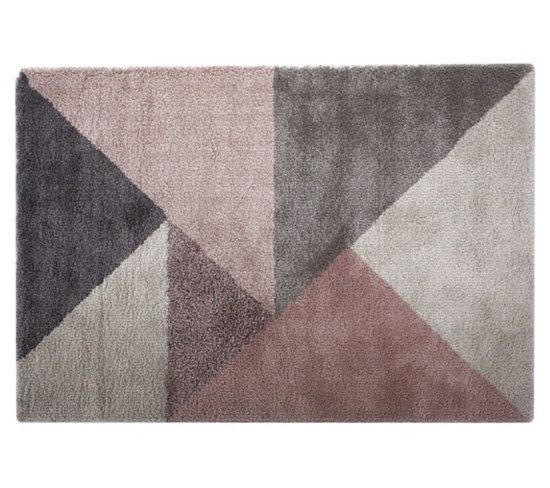 Tapis 160x230 Cm Graphic Beige Rose Tapis But Salons And