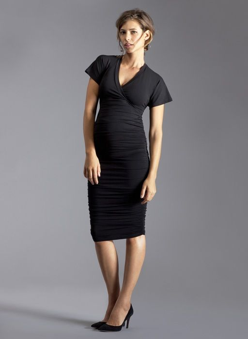 15f41c2cb8f8e Midi Ruched Maternity Skirt | Isabella Oliver | Maternity Capsule Collection