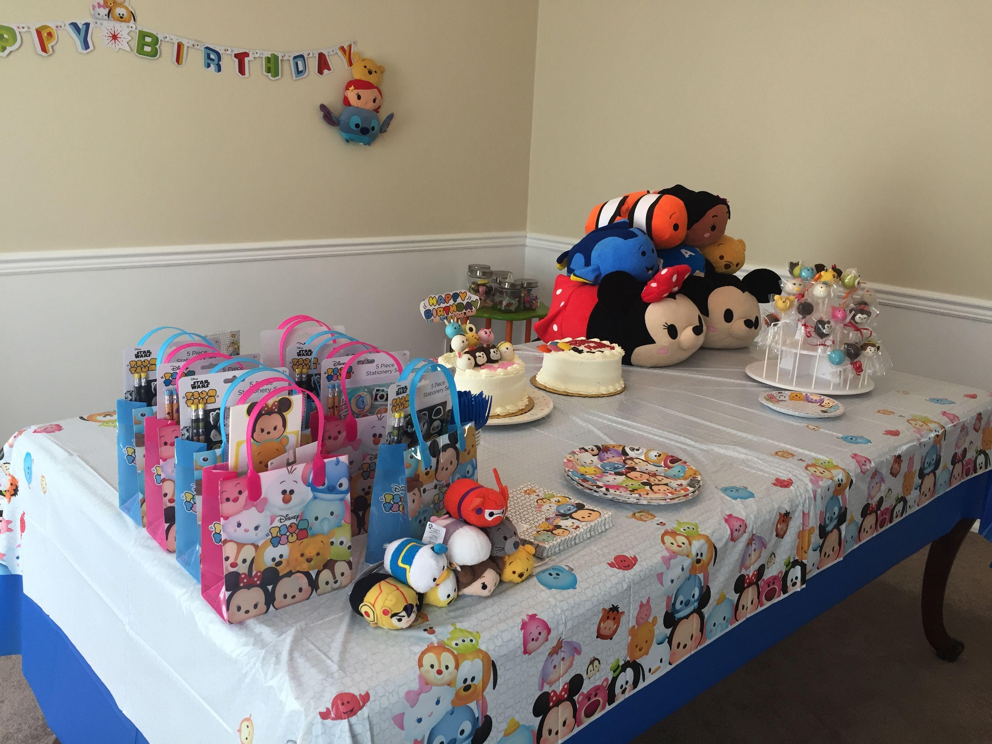 Tsum Tsum Ideas Para Fiestas: Tsum Tsum Birthday Party