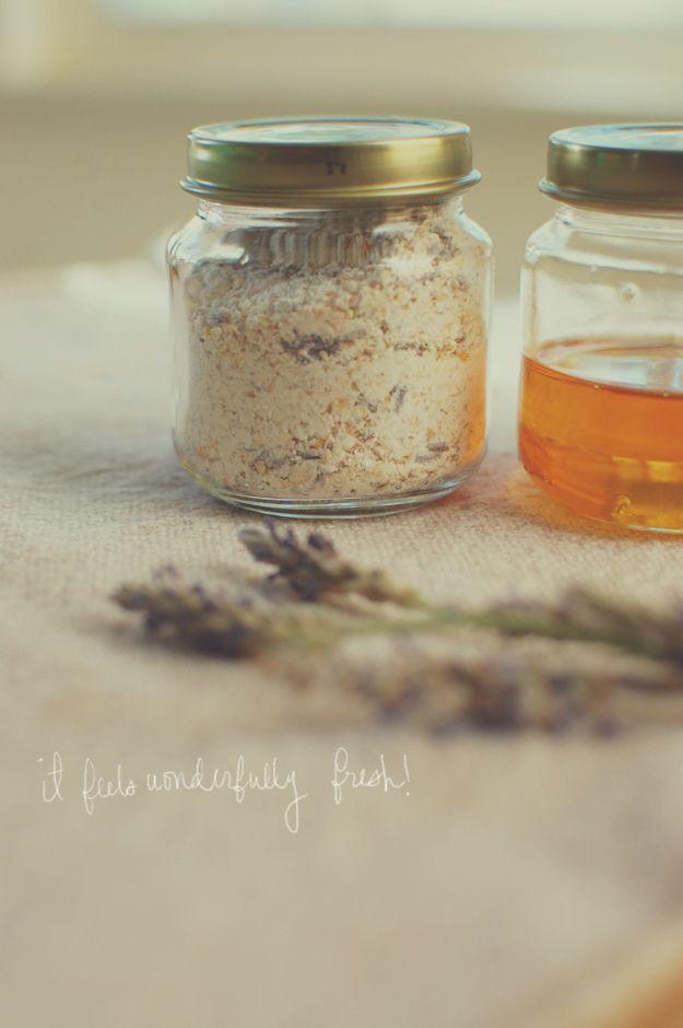 diy: natural face wash