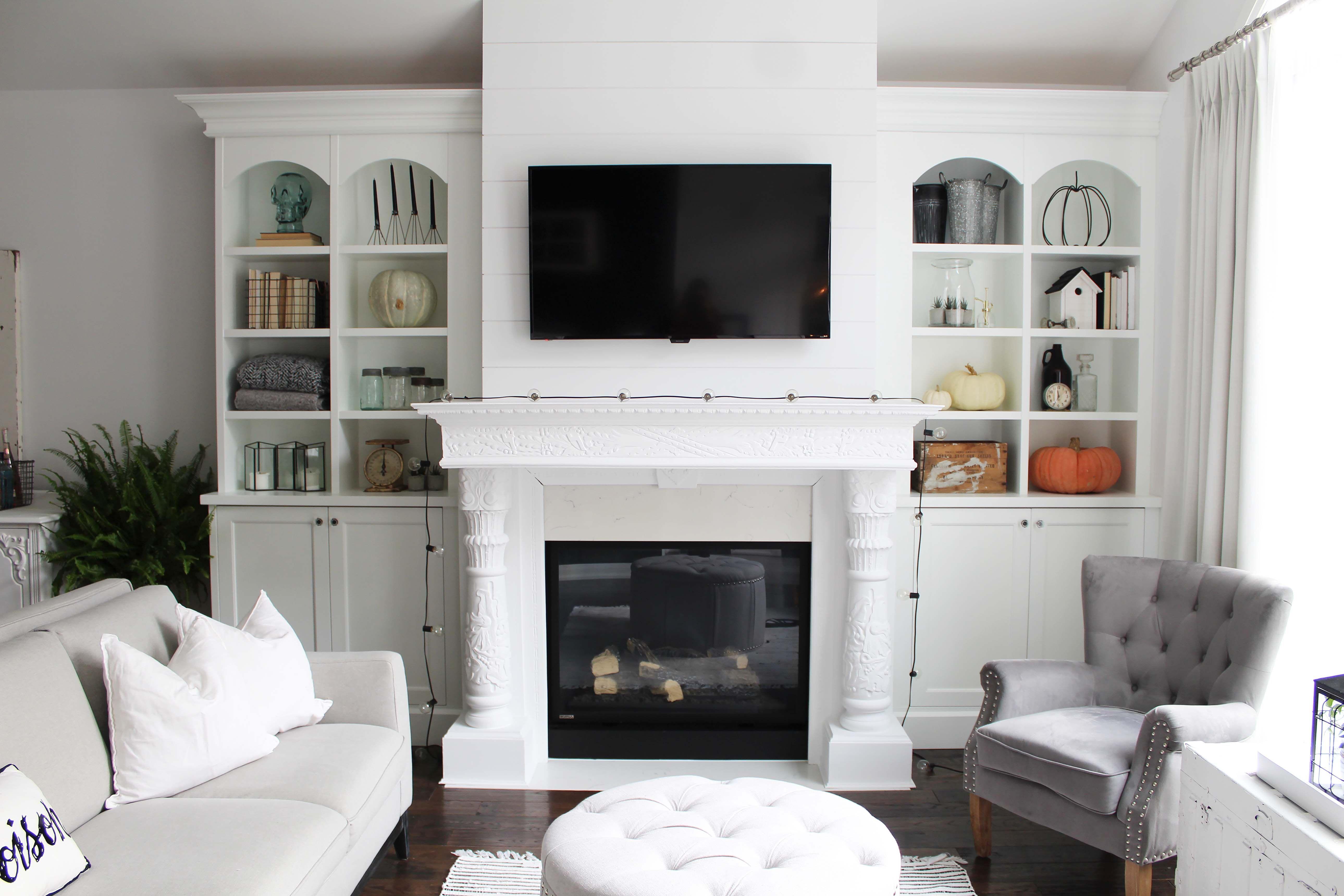 Builtins around fireplace built in around fireplace