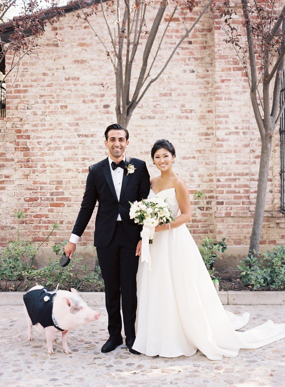 cool wedding shot ideas%0A Wedding Ideas That Incorporate Your Fur Baby into the Big Day   Brides
