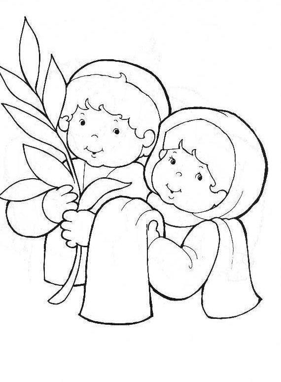 Palm Sunday | pasqua | Pinterest | Testamento, Colorear y Historia