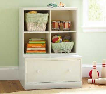 Kids Room Cameron Cubby Drawer Base Traditional Toy Storage