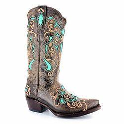 e4e87a58fc0 Corkys Girl Western Boots