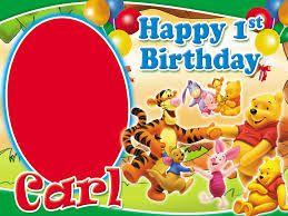 First Birthday Tarpaulin Layout Design Google Search Birthday