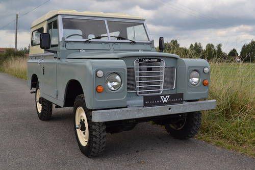 "Land Rover Series 3 88"" 1983 Hardtop Diesel 65,000 Miles For Sale"