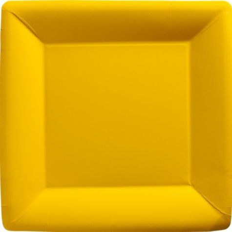 Sunshine Yellow Paper Square Dinner Plates 20ct - Party City  sc 1 st  Pinterest & Sunshine Yellow Paper Square Dinner Plates 20ct - Party City | First ...