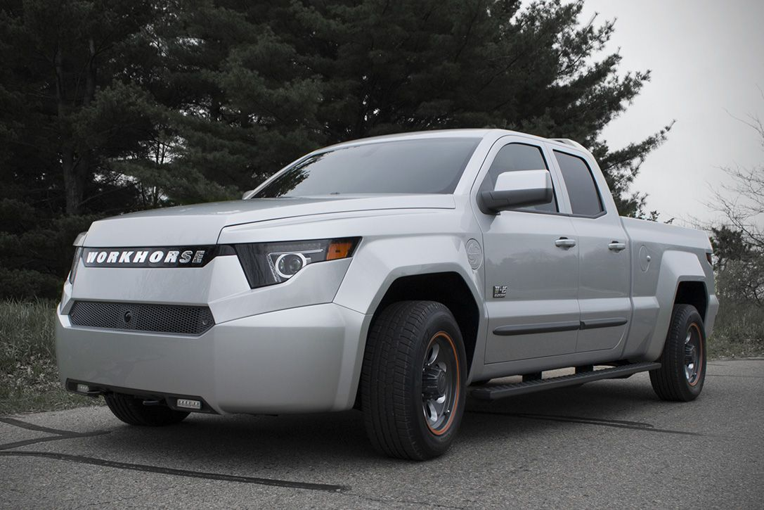 Workhorse W15 Is A 460 HP HybridElectric Pickup Truck