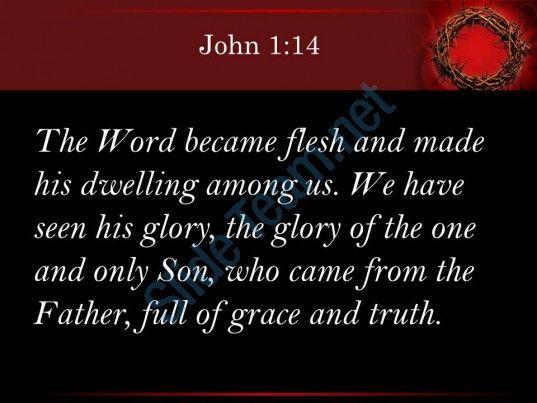 0514 john 114 the word became flesh and made powerpoint church sermon Slide03http://www.slideteam.net