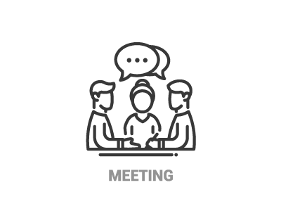 Business Meeting Icon Vector Filled Flat Sign Solid Pictogram Isolated On Whit Affiliate Flat Filled Solid Pictogram Logo Illustration Symbol Logo