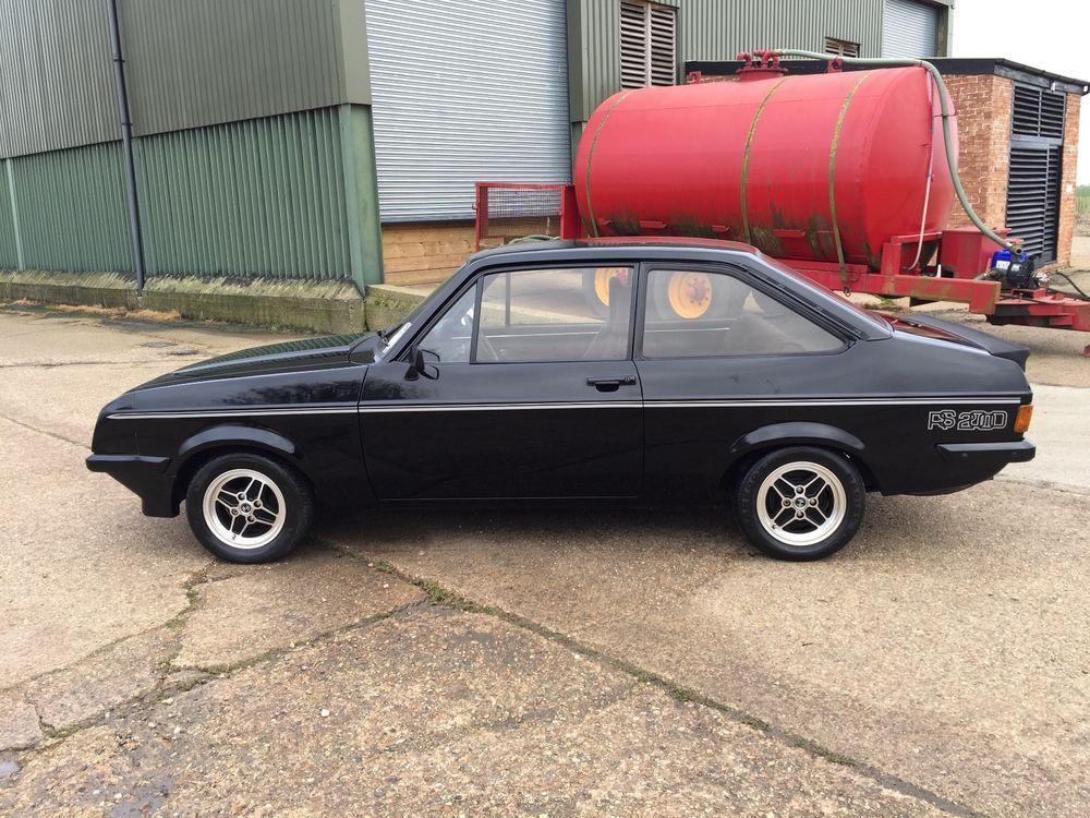 eBay: 1977 FORD ESCORT MK2 GENUINE RS2000 2.0 UK CAR EXCELLENT CONDI ...