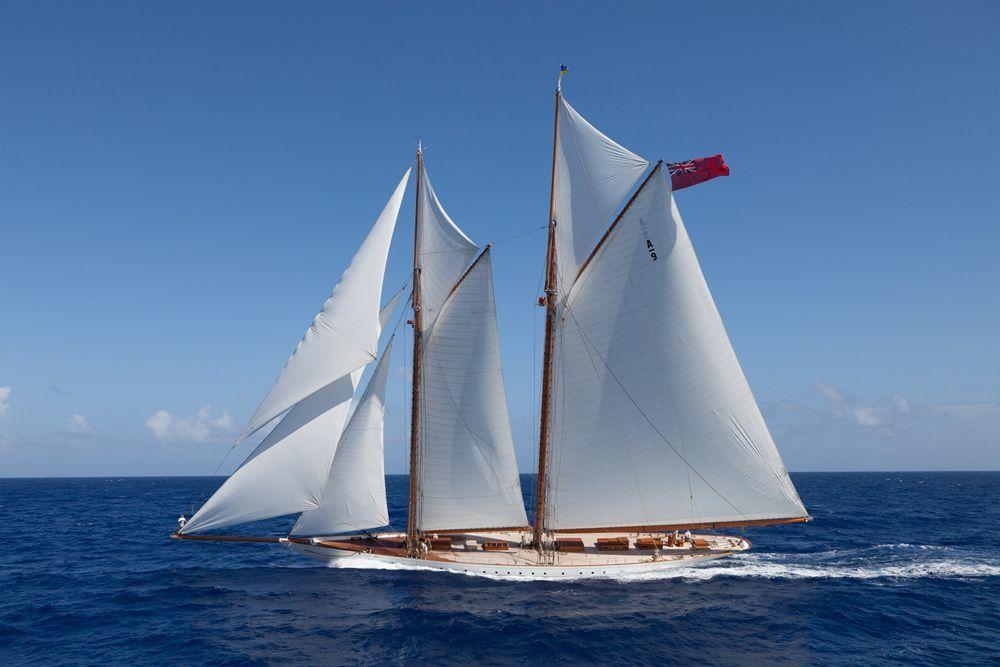 Elena in 2020 Luxury sailing yachts, Sailing yacht