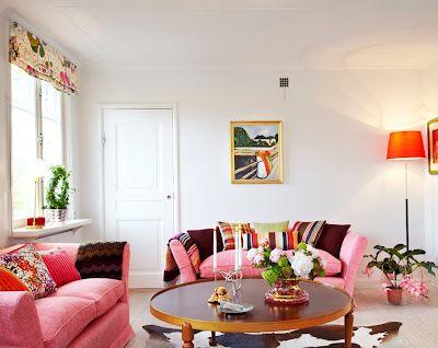 Pink Sofa's !!!!!!