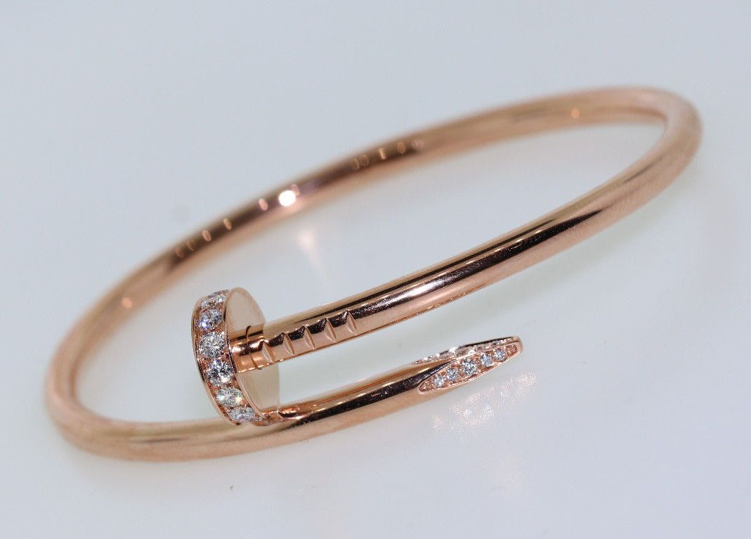Cartier Diamond Nail Bracelet Juste Un