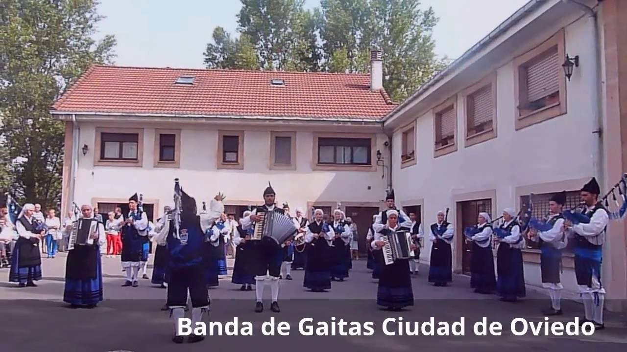 Festividad de San Lázaro del Camino de Oviedo 2016. Banda de Gaitas Ciud...
