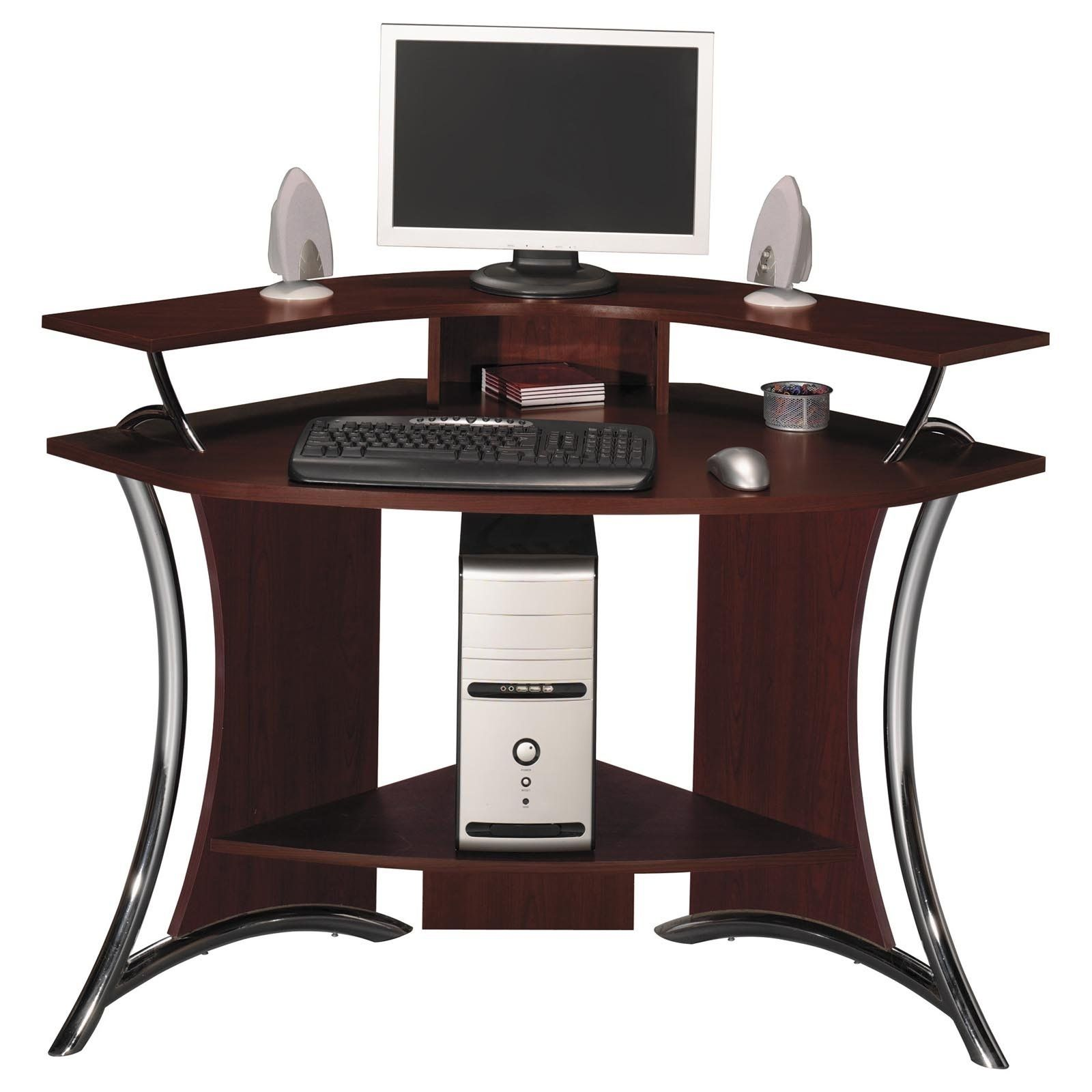 Beautiful Corner Computer Desk For Small Spaces Darbylanefurniture Com In 2020