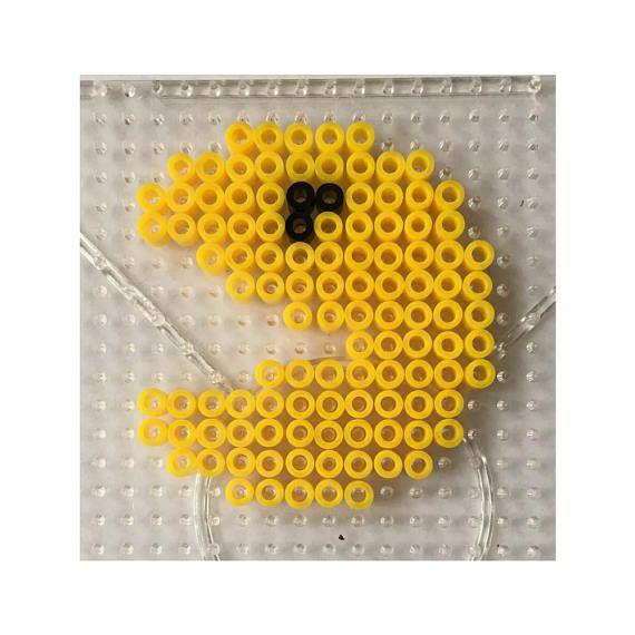 Pacman - Perler  Hama DIY Kit - copy blueprint design ideas