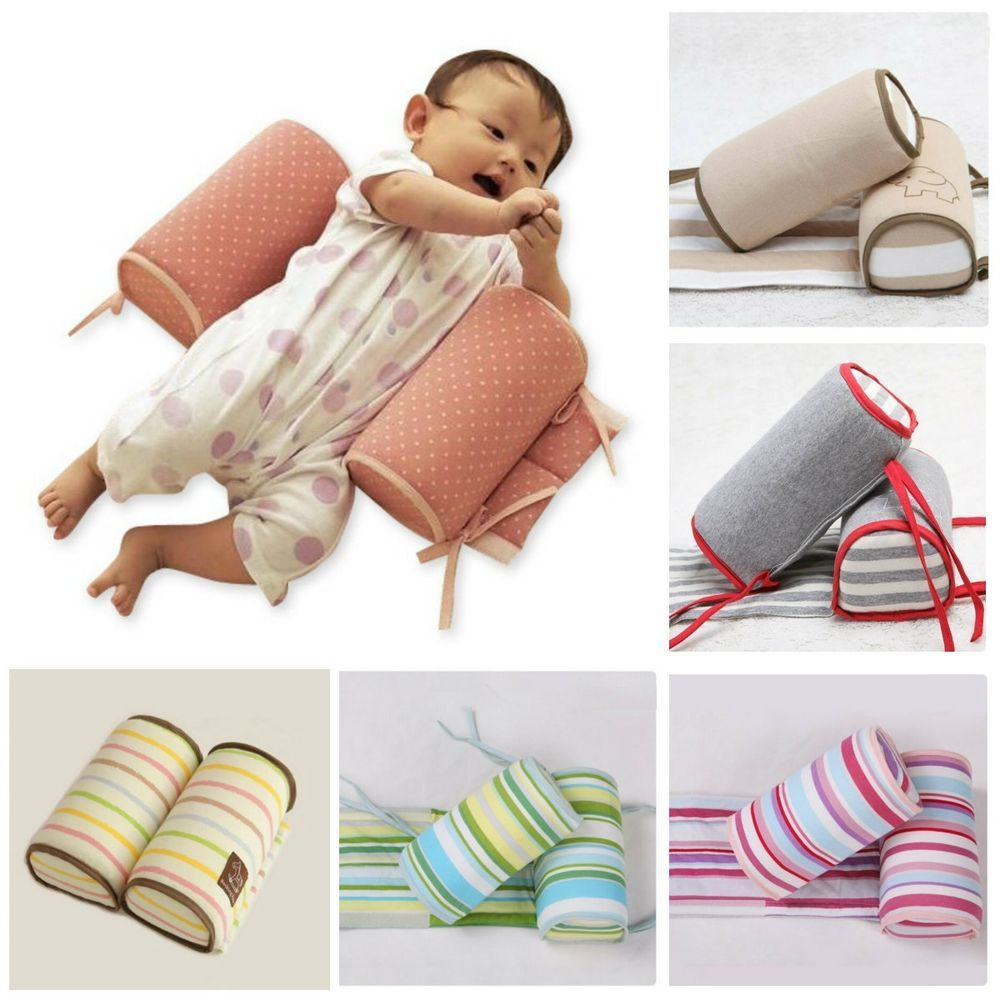 Crib pillows babies - Details About New Baby Infant Sleep Positioner Anti Roll Cushion Pillow In Crib