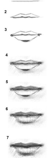 How To Draw Lips Art Pinterest Como Dibujar Arte And Como