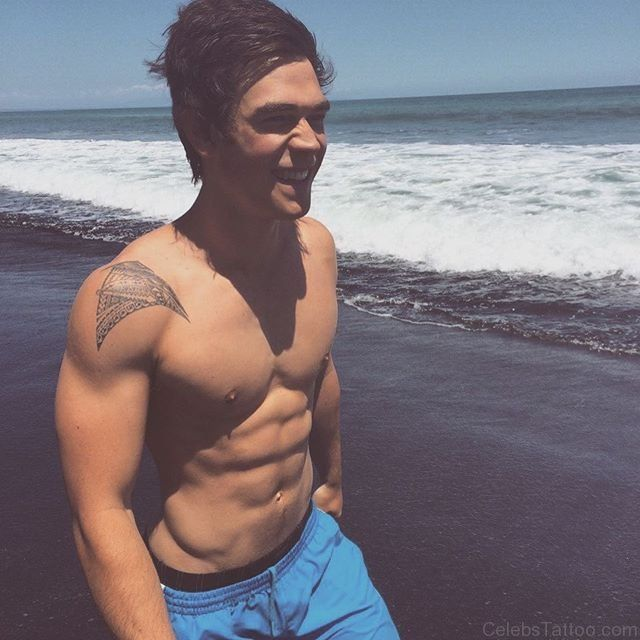Image result for KJ Apa tattoo