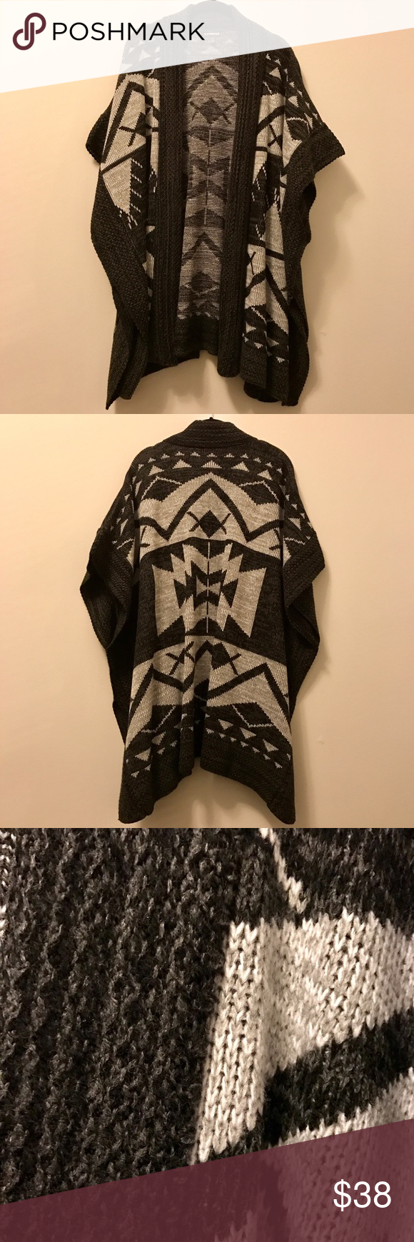 Sold on Mercari Express Aztec Sweater Coat Sweater coats