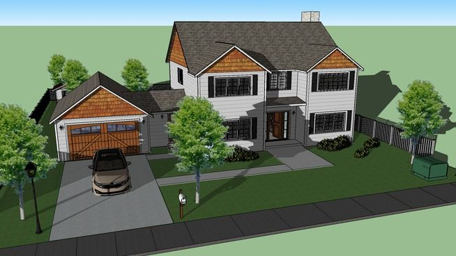 3D Warehouse - View Model   Home projects, Home, House styles