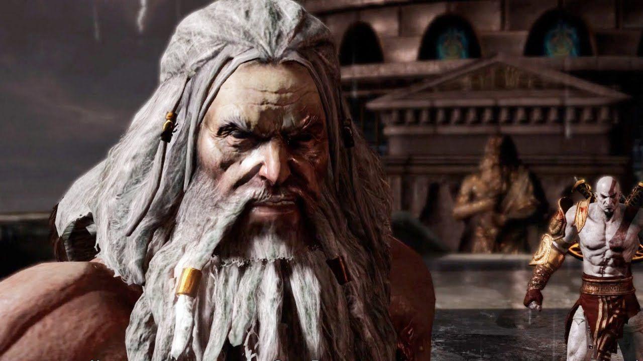 Zeus vs Kratos Full Boss Fight (God of War 3 Remastered) Final Boss
