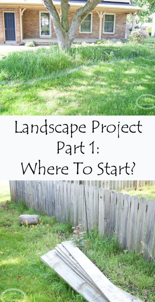 Landscape Project Part 1: Where To Start? - Soon To Be Charming