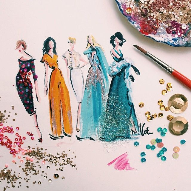 Updated 12 Fashion Illustrators To Follow On Instagram Fashion Art Illustration Fashion Illustration Fashion Illustration Sketches