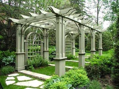 GardenStructure Cedar Pergola GORGEOUS
