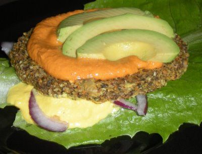 Raw burgers raw loulou raw vegan recipes pinterest raw vegan raw vitality burgers can also try on healthy bread bun ie find this pin and more on raw vegan recipes forumfinder Images