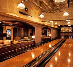 The Spare Room Gilt City Los Angeles Home Bowling Alley Spare Room House
