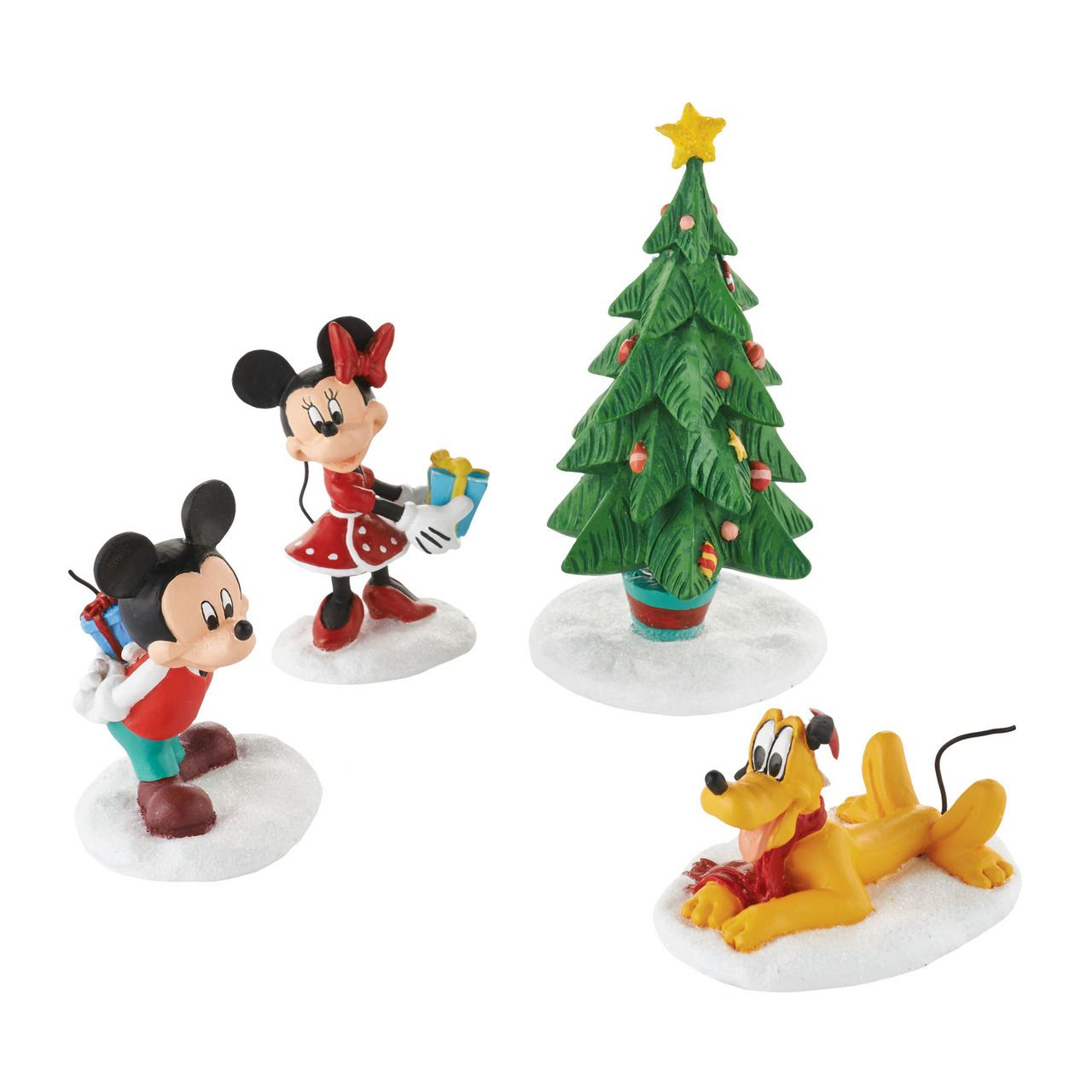 DEPT 56 DISNEY MICKEY/'S CHRISTMAS VILLAGE MICKEY/'S TANGLED TANGO NIB