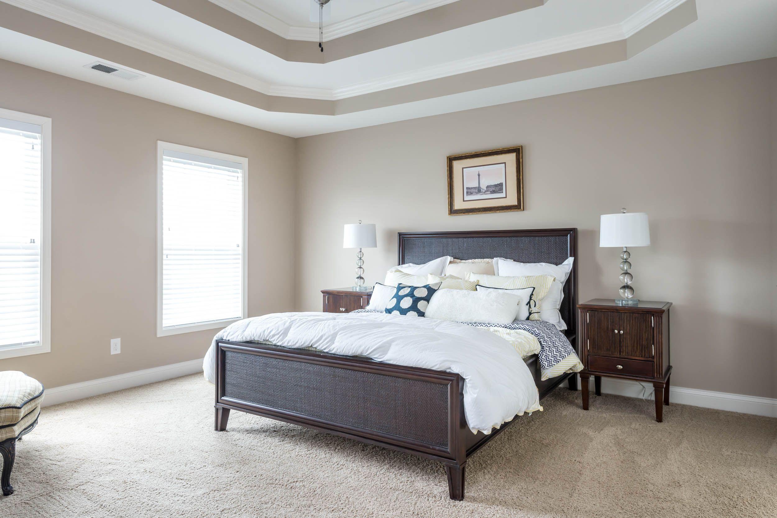 Arlington II Expanded Master Bedroom