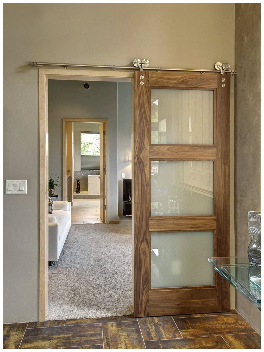12 Modern Sliding Door Ideas That Make A Amzing Home Freshouz Com Modern Sliding Doors Barn Door Designs Sliding Doors