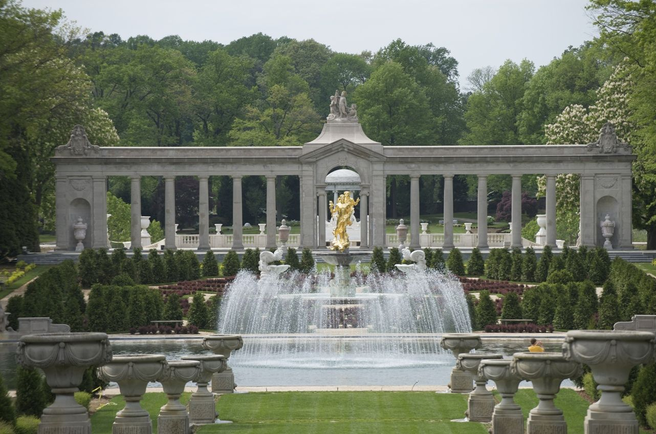 The colonnade at nemours the alfred i dupont estate in for 7 temple terrace wilmington de