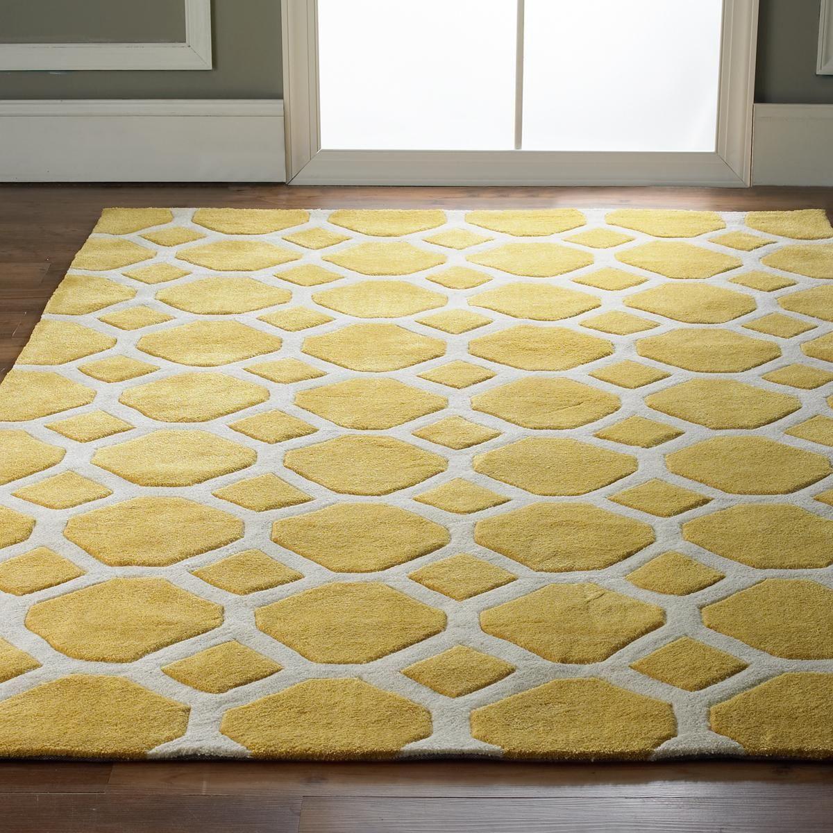Honeycomb Carved Soft Rug Rugs Nursery Rugs Rugs