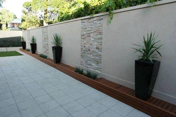 25+ beste konkrete Fechten Design-Ideen für Backyard Remodeling Plan #backyardremodel