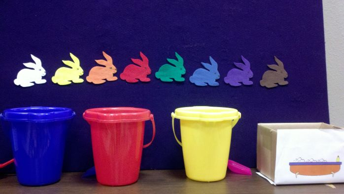 Storytime: Colors! | White rabbits, Early childhood activities and ...