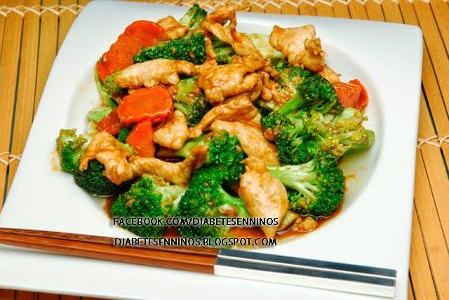 recetas asiáticas para la diabetes tipo 2