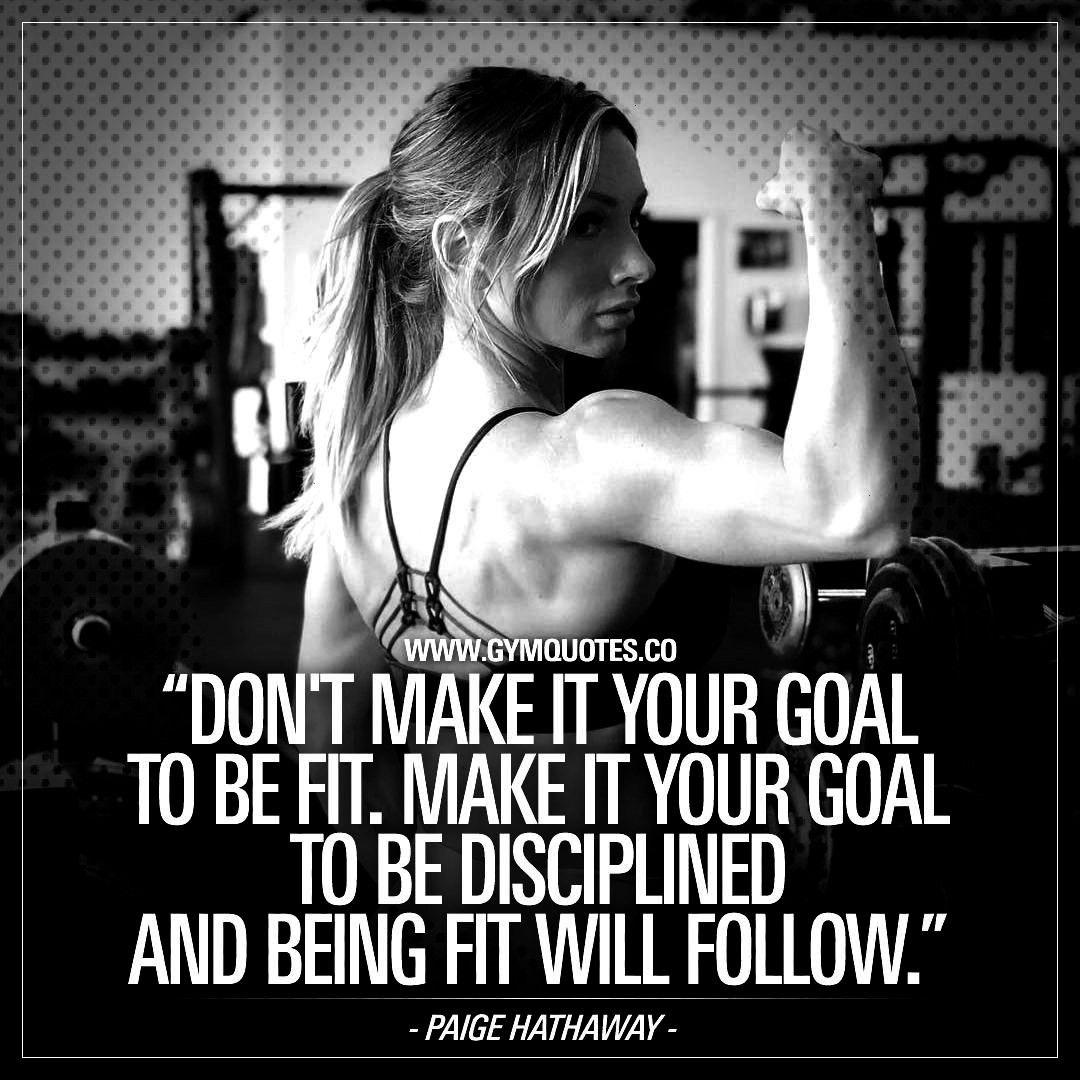 #disciplined #discipline #followdont #gymquotes #regularly #training #crushing #hathaway #transfer #...