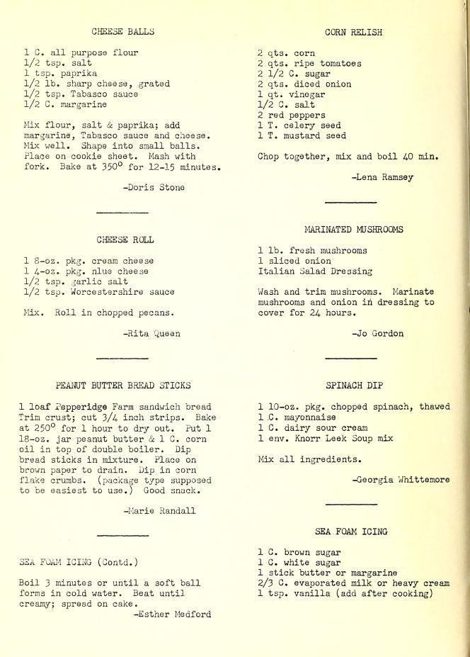 Supplement to favorite recipes of Fletcher United Methodist Women #pioneerwomannachocheesecasserole