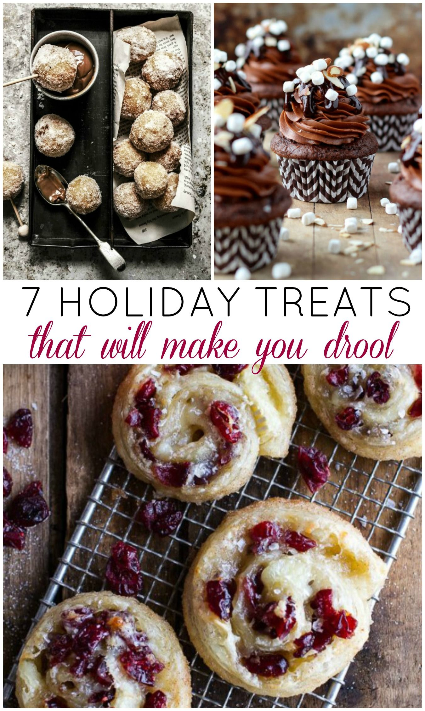 7 Yummy Holiday Treats to Make This Year - Recipes
